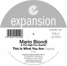 Mario Biondi and The High Five Q - This Is What You Are 12 Vinyl