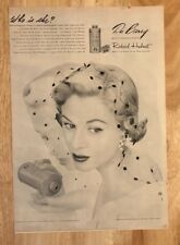 Original Print Ad 1951 Du BARRY Who Is She? Makup Jules Beatrice Pinsley