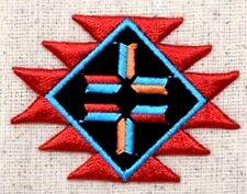 "Indian Southwest Design iron on patch  2-1/8"" x 1-5/8"""