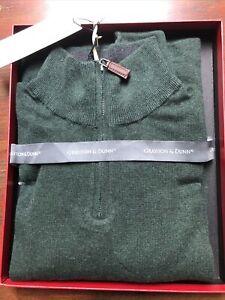 Grayson & Dunn Men's Cashmere Quarter Zip