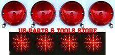 Chevrolet Corvette 75 - 82 LED Rückleuchten rot klar Satz 1975 1982 1980 81 79
