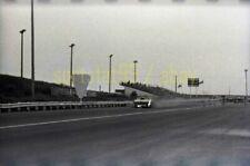 Funny Car Dragster on Fire @ OCIR - c1960-70s - Vintage 35mm Race Negative