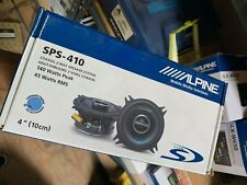 ALPINE TYPE-S SPS-410 4