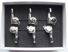 Schaller M6 Locking Tuners 18 19 5 (staggered) 135° 6 links Chrome