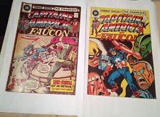 Capitaine America Et Le Faucon # 44,45 Edition Heritage