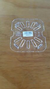 CAMBRO GN 1/6 Size Drain Tray Insert Polycarbonate (6 pack) 60CWD