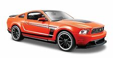 Maisto 1:24 Ford Mustang Boss 302 Diecast Model Racing Car Toy Orange NEW IN BOX