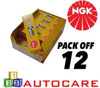 NGK Replacement Spark Plug set - 12 Pack - Part Number: BR7EFS No. 1094 12pk