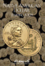 H.E. Harris Native American Dollar Coin Folder Starting 2009 #3162