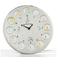 My First Year Baby Picture Clock