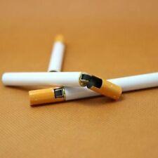Novelty Windproof Jet Flame Cigarette Shaped Refillable Butane Gas Cigar Lighter