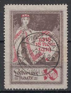 LATVIA, LITHUANIA, 1919 PALANGA POSTMARK/CANCELLATION