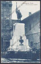 NOVARA CARPIGNANO SESIA 30 MONUMENTO ai CADUTI Cartolina Foto MAGGIORA