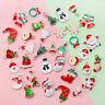 XMS Charm Christmas Tree/Snowman/Santa Claus/Moon Pendant DIY Earrings Making