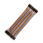 40Pcs Dupont Wire Jumper Cables 10/20/30cm M-M M-F F-F For Arduino Breadboard