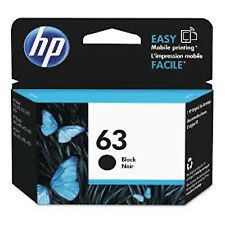 2018 / 2019 Genuine HP 63 Black F6U62AN Ink Deskjet 2130 2131 2132 2133 2134
