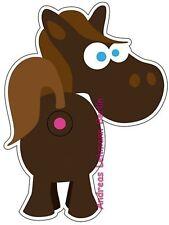 Türspion Sticker Pferd wiederverwendbar Reusable Peephole Wohnungstür Guckloch