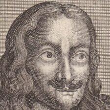 Portrait XVIIIe Margrave Charles De Burgau Karl von Burgau Carlo d'Austria 1744