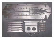 "7 1/4"" g - GWR Loriot Well Wagon Laser-cut Chassis Parts"