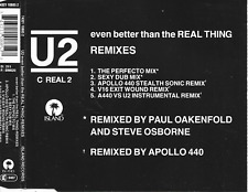 U2 - Even better than the real thing (REMIXES) CDM 5TR Pop House 1992 Germany