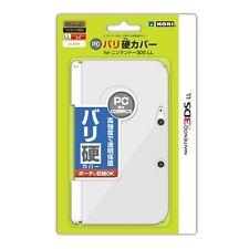 Hori Bari-Kata Extra hard PC Cover for Nintendo 3DS LL XL Clear Barikata F/S
