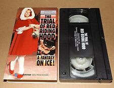 The Trial of Red Riding Hood vhs video Elizabeth Manley Figure Skating