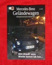 Mercedes Magazin Geländewagen G Klasse Heft Prospekt V8 Puch AMG G63 Klassiker