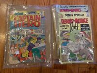 Silver Comic Lot- Jughead as Captain Hero #1 Archie Dennis The Menace Looney