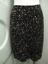 Beaded Sequins Skirt 6 Excellent Condition Knee Length No Label
