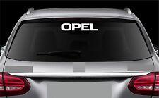 Rear Window Sticker fits Opel Zafira Astra New Vinyl Decal Car Emblem Logo RW70