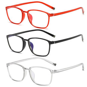 Men Ladies Reading Glasses +1.0 to +4.00 Anti-blue Light Anti Fatigue Eyeglasses