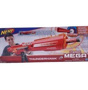 Nerf N-Strike Mega Thunderhawk Accustrike Series Toy Blaster
