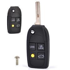 3+1 Fernbedienung Schlüssel Gehäuse Ersatz Rohling Für Volvo S40 V40 C70 S60 S80