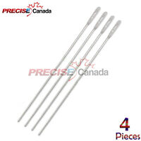 """4 Probe With Eye 5.5"""" Stainless Steel NEW Instruments"""