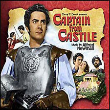 CAPTAIN FROM CASTILE (SAE)  Alfred Newman Soundtrack