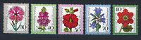 ALEMANIA/RFA WEST GERMANY 1974 MNH SC.B512/B516 Flowers