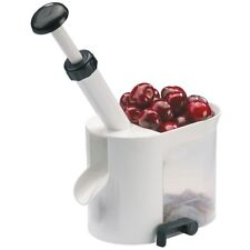 We4030 Westmark Cherry Stoner / Pitter in White by GLIBERTS Food Equipment