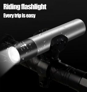 Mini LED Flashlight USB Rechargeable Torch Lantern Portable Outdoor Night Lamp