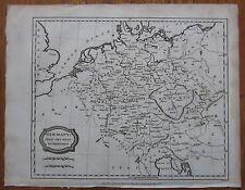 Blomfield: Map of Germany - 1807