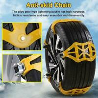 Car Tire Best Anti-skid Chain Thickened Beef Tendon Wheel Snow Mud Road Winter
