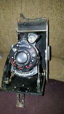 Antique VOIGTLANDER pleated  Camera BESSA Model Voigtar 1:63  parts /repair