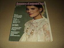FEMMES D'AUJOURD'HUI 81/06 (10/2/81)SOEUR EMMANUELLE MARLENE JOBERT MICHELE TORR