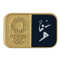 Tokyo Olympics 2020 Olympic Sport Pictogram Badminton Pin Badge JAPAN