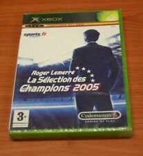 JEU XBOX   ROGER LEMERRE LA SELECTION 2005    neuf