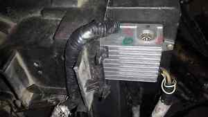 JAGUAR X TYPE 2004 2005  COOLING FANS WITH RELAY