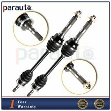 FOR KAWASAKI MULE 3010 KAF950 DIESEL 2003-08 FRONT RIGHT and LEFT CV JOINT AXLES
