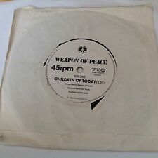 "Weapon Of Peace - Children Of Today / Woman - 7"" Single TF1082 - 1980"