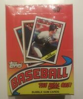 1988 TOPPS BASEBALL CARD UNOPENED WAX BOX 36 PACKS