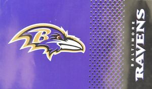 NFL Baltimore Ravens Football Large Flag Fade New Boxed 150x90cm