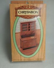 DOLLHOUSE MINIATURE ~  CHRYSNBON HOOSIER KITCHEN CABINET KIT